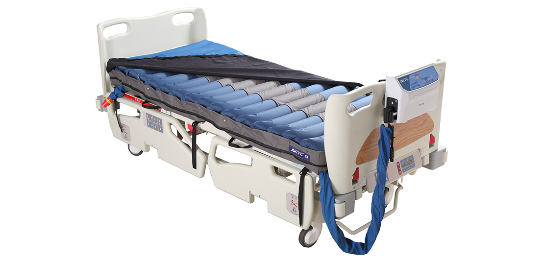 Bubble mattress for bed sores